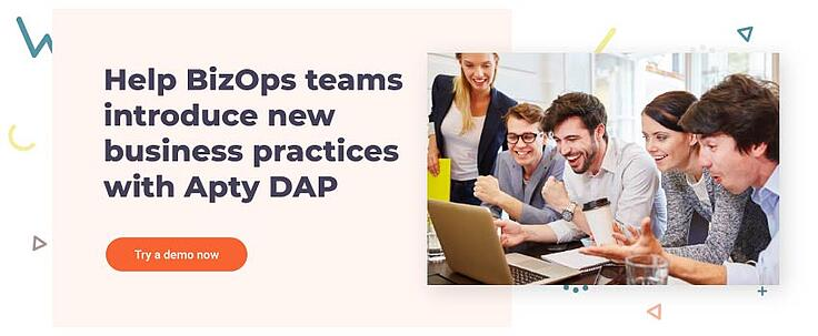 Help BizOps teams introduce new business practices