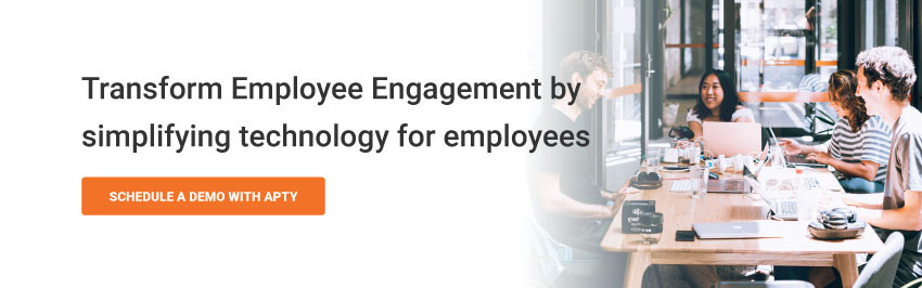 Transform Employee Engagement by simplifying technology for employees