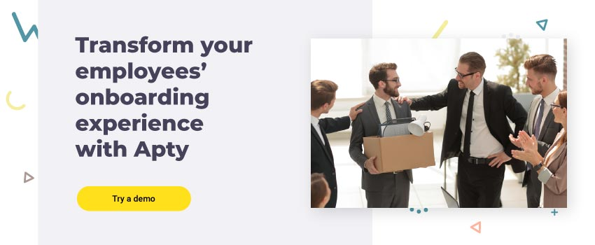 Transform your employees' onboarding experience with Apty