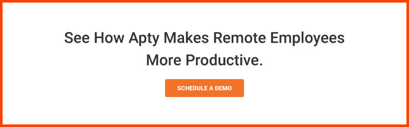 See How Apty Makes Remote Employees More Productive.