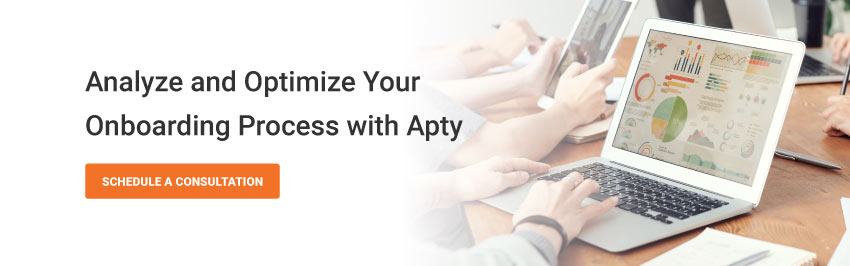 Analyze and Optimize Your Onboarding Process with Apty.