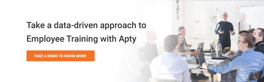 Take a data-driven approach to Employee Training with Apty