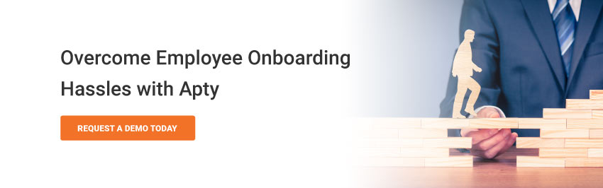 Overcome Employee Onboarding Hassles with Apty